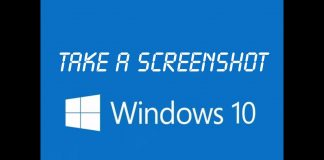 how to screenshot in windows 10