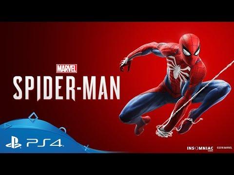 marvel spider man ps4 games