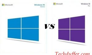 window 10 home vs pro