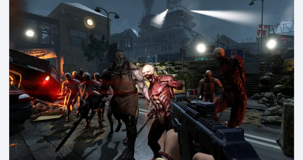 The ps4 zombie games