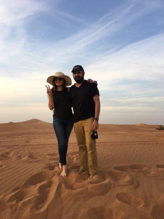 Dubai desert safari activities
