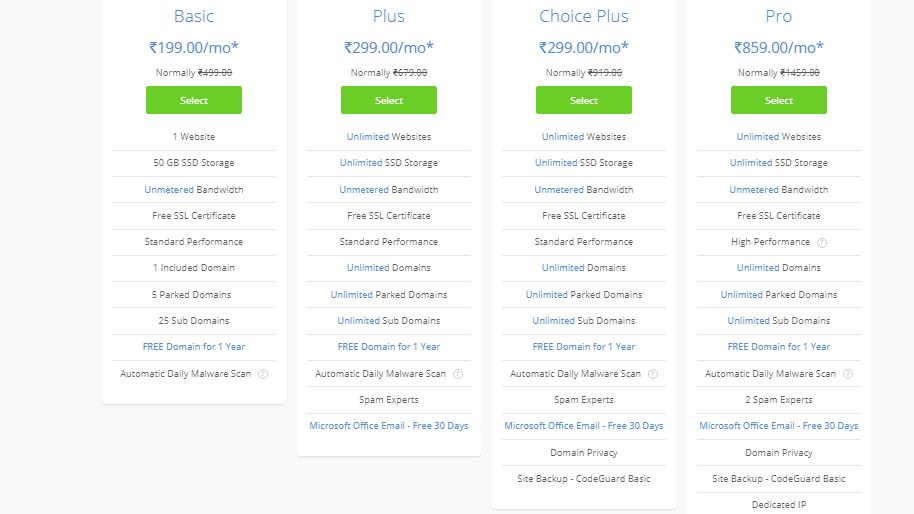 Web Hosting Plans DreamHost