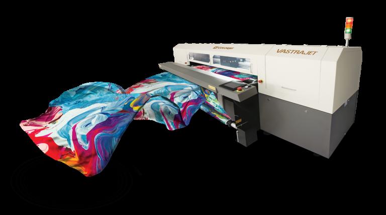 Apparels printing machine