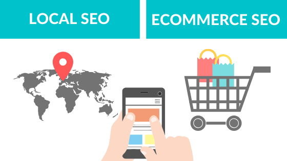 How is Ecommerce SEO different from Local SEO