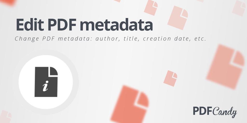PDF Metadata