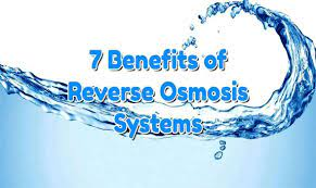 Health Advantages Of Reverse Osmosis