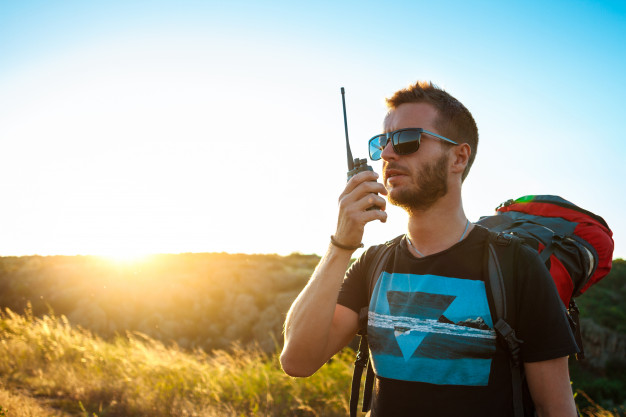 range walkie talkie