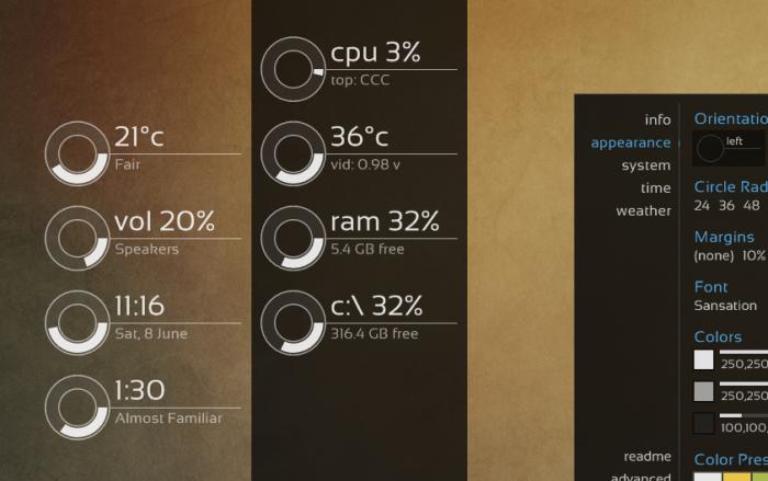 Best Rainmeter Skin