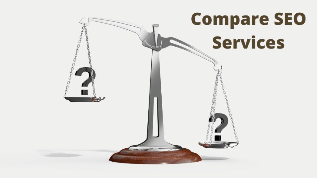 Compare SEO Services